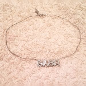 CRYSTAL SK8R (SKATER) NECKLACE!!!
